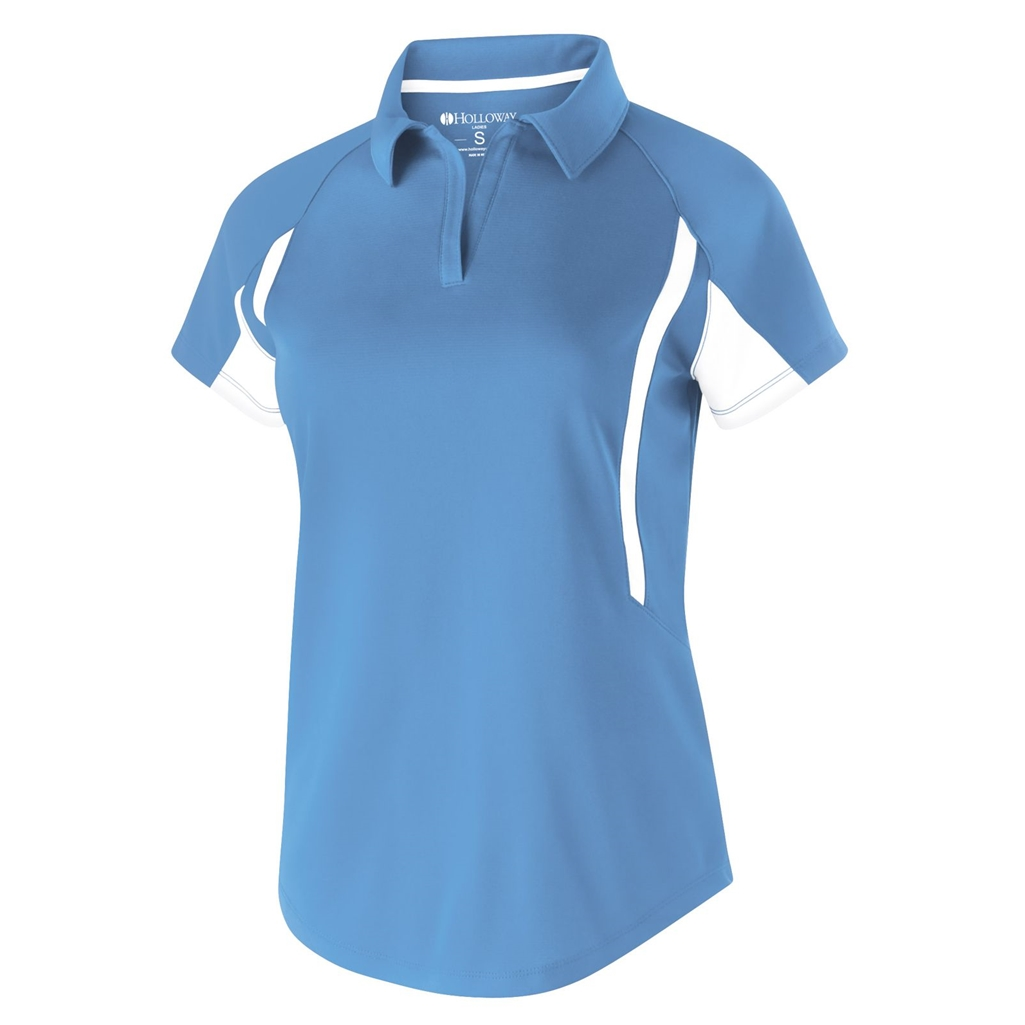 4098afa2 Holloway Dry Excel Ladies Avenger Polo   Free Shipping   Quantity Discounts