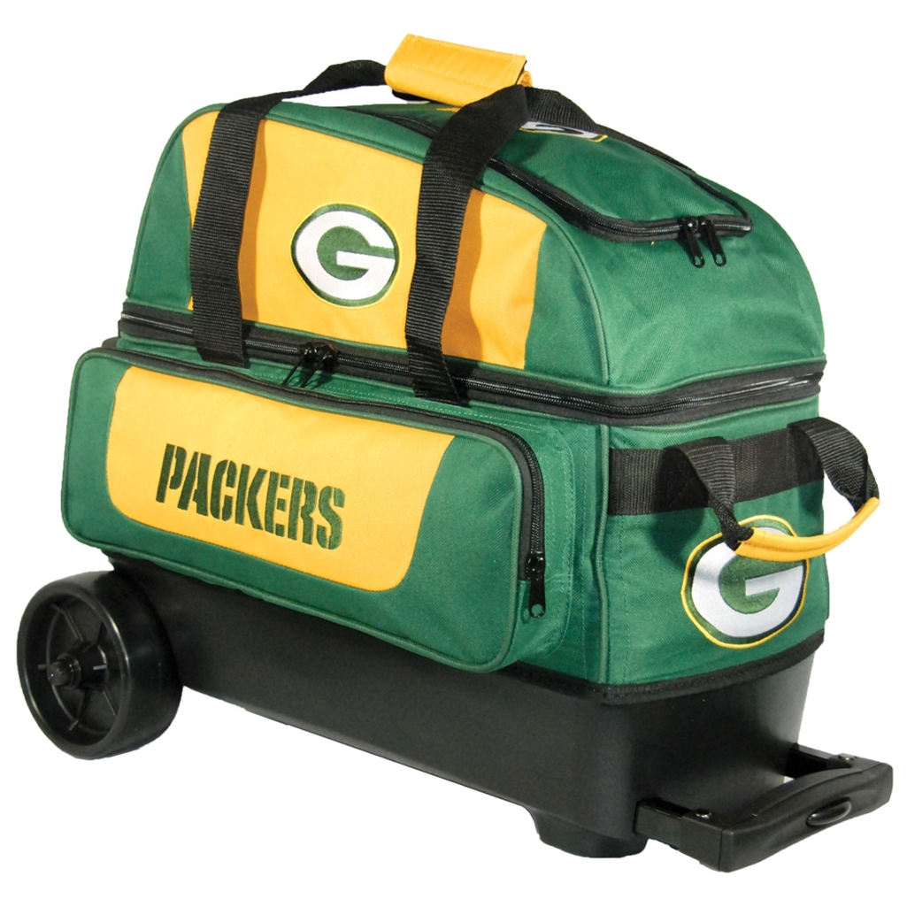 Nfl Double Roller Bowling Bag Green