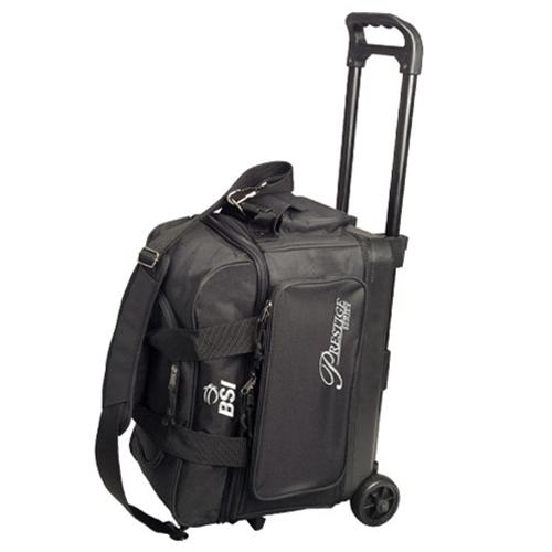 a65cd72d78 BSI Prestige Double Roller Bowling Bag- Black