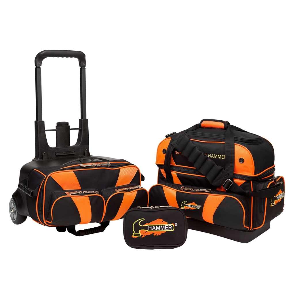 hammer 2 ball roller bowling bag