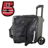 Brunswick Flash X Single Roller Bowling Bag- Black