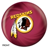 Washington Redskins Bowling Ball