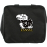 University of Kansas Bowling Bag- Black/White/Yellow