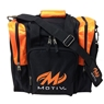 MOTIV Single Bowling Bag- Black/Orange