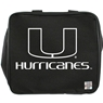 University of Miami Bowling Bag- Black/White