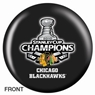 Chicago Blackhawks NHL Champions Bowling Ball