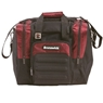 Brunswick Flash Single Tote Bowling Bag- Burgundy/Black