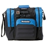 Brunswick Flash Single Tote Bowling Bag- Royal/Black