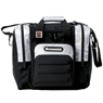 Brunswick Flash Single Tote Bowling Bag- Silver/Black