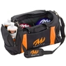 MOTIV Double Deluxe Tote Bowling Bag- Black/Orange
