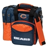NFL Single Bowling Bag- Chicago Bears
