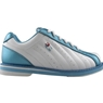 3G Kicks Ladies White/Blue Bowling Shoes