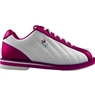 3G Kicks Ladies White/Pink Bowling Shoes