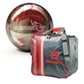 Brunswick Slingshot Bowling Package- Red/Silver