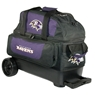 NFL Double Roller Bowling Bag- Baltimore Ravens