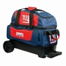 NFL Double Roller Bowling Bag- New York Giants