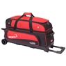 Ebonite Transport 3 Roller Bowling Bag- Red/Black