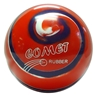 Comet Rubber Duckpin Bowling Balls- 3 Ball Set
