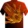 Dye-Sublimated Flame Bowling T-Shirt