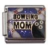 Bowling Mom Charm