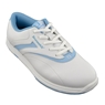 Brunswick Ladies Silk Bowling Shoes- White/Blue