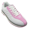 Brunswick Ladies Glide Bowling Shoes- White/Pink