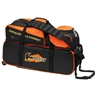 Hammer Triple Tote Bowling Bag with Pouch- Black/Orange