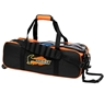 Hammer Triple Tote Bowling Bag- Black/Orange