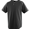 STYLE 555- WICKING ONE-BUTTON BASEBALL JERSEY - YOUTH
