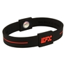 EFX Silicone Sport Wristband- Black/Red