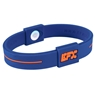 EFX Silicone Sport Wristband- Blue/Orange