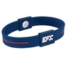 EFX Silicone Sport Wristband- Blue/White/Red