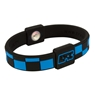 EFX Silicone Sport Wristband- Checkers Black/Blue