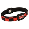 EFX Silicone Sport Wristband- Checkers Black/Red