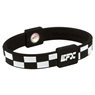 EFX Silicone Sport Wristband- Checkers Black/White
