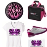 Brunswick Pink Flame Ladies/Girls Bowling Package