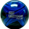 Candlepin Urethane Pro-Line Bowling Ball- Black/Royal/Green