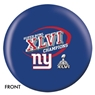 New York Gaints Super Bowl Champions Bowling Ball