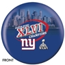 New York Giants Super Bowl Champions Bowling Ball- Version 2