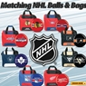 NHL Bowling Ball and Bag Package