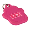 EFX Silicone Pet Tag- Pink Paw