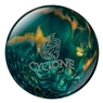 Ebonite Cyclone Bowling Ball- Green/Gold/Silver
