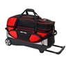 Columbia 300 Pro 3 Ball Roller Bowling Bag- Red/Silver/Black