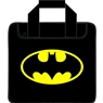Batman Single Ball Bowling Bag- Black/Yellow
