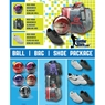 Brunswick Slingshot Bowling Ball, Slingshot Bag and Shoe Package