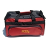 Double Zipper Soft Pack Bowling Bag- Barn Red/Black