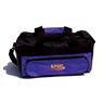 Double Zipper Soft Pack Bowling Bag- Purple/Black