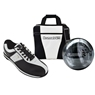 Brunswick Gear White Series Bowling Package- White Black