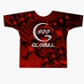 900 Global Bowling 12 Red Strikes Dye-Sublimated Shirt