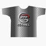 900 Global Bowling Diamond Plate Dye-Sublimated Shirt